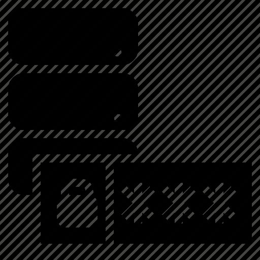 Database, database passphrase, database password, database security, passphrase, password icon - Download on Iconfinder