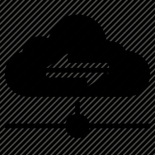 cloud, cloud connection, cloud server, cloud technology, internet icon