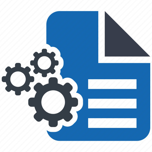 business, content, document, management, page, paper, profreading icon
