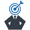 audience, business, goal, marketing, seo, success, target icon