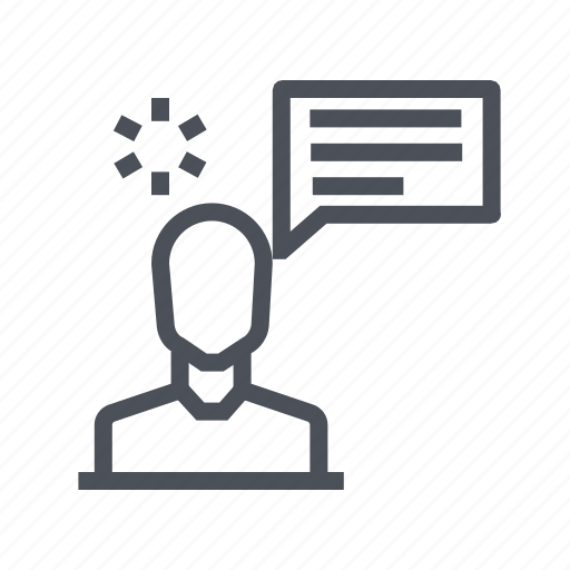 customer, info, information, support, testimonials icon