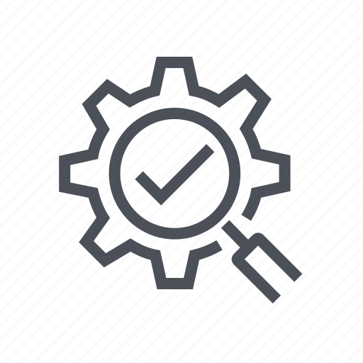 engine, find, magnifying, optimization, search icon