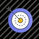 aim, goal, seo, target, targeting icon