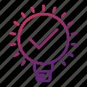 bulb, efficiency, idea, innovation, light