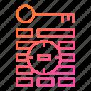 key, keyword, target, targeting icon