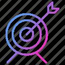 focus, goal, seo, target, targeting icon