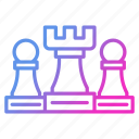 chess, group, strategy, teamwork icon
