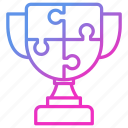 cup, prize, strategy, victory, winner icon