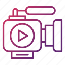 camera, device, marketing, photography, video icon