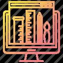 design, graphics, portfolio, tools, web icon
