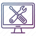 repair, support, technical, tools icon