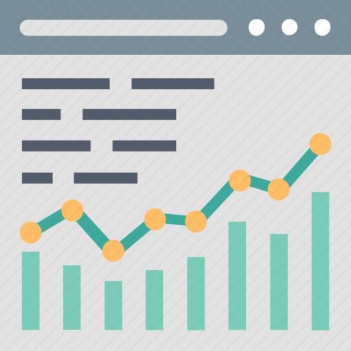 Analytics, analysis, chart, graph, growth, report, statistics icon - Download on Iconfinder
