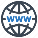 internet, search, web, www icon