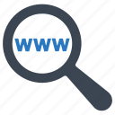 search, web, www icon