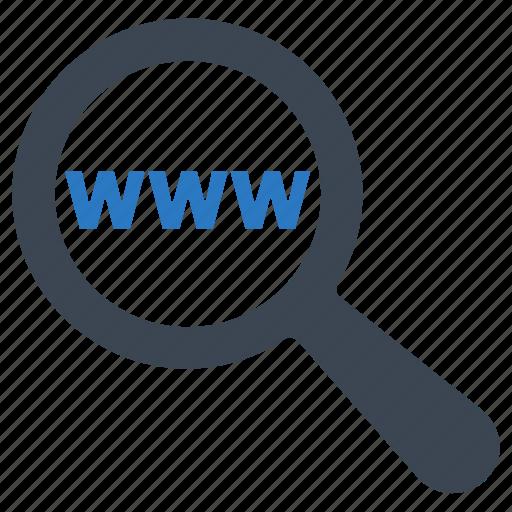 search, web, www icon
