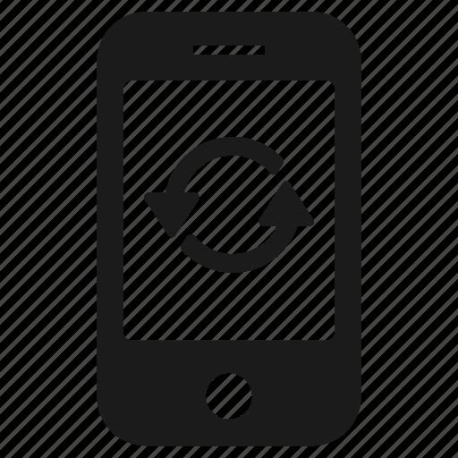 backup, mobile, phone, recoery, reset, restore icon