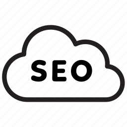 cloud, internet, keyword, seo icon