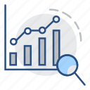 statistics, graph, chart, dashboard, marketing, seo icon