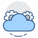 cloud settings, cloud computing, optimization, search engine, seo, cloud storage icon