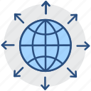 web, communication, connection, optimization, internet, seo, global network icon