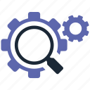 optimization, search icon