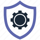 security, settings icon