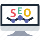monitoring, seo icon