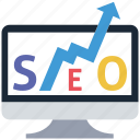 ranking, seo icon