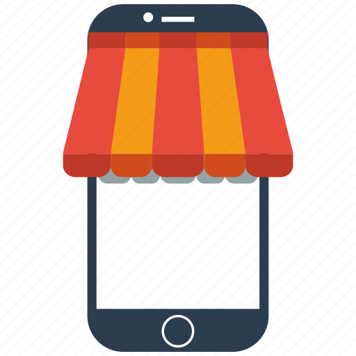 mobile, seo, store icon