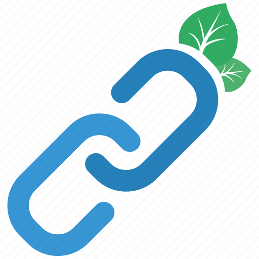 backlink, natural, seo icon