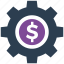 options, payment, seo icon