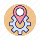 local, location, optimisation, optimization, seo icon