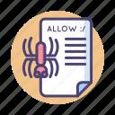 crawler, document, robot, robot txt, spider, text, txt icon