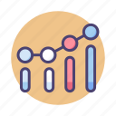 benchmark, benchmarking, chart, data, diagram, graph, stats icon