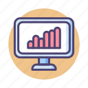 analysis, analytics, chart, graph, seo icon