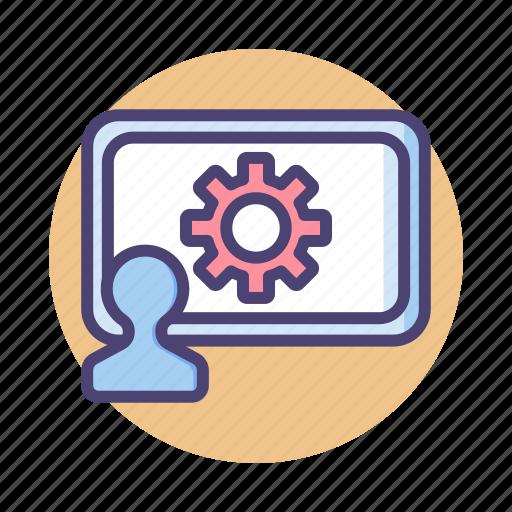 development, seo, training, web icon