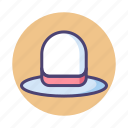 hat, white hat, white hat seo icon