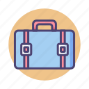 briefcase, portfolio, services, suitcase icon