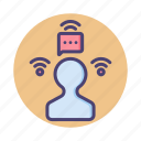 connection, internet, signal, social, social signal, wifi icon