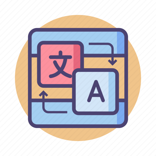 localization, translate, translation, translator icon