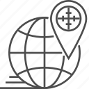 earth, globe, location, pin, seo, targeting, world