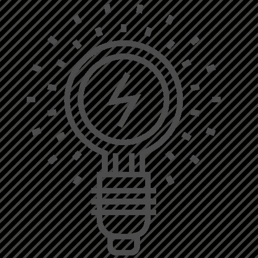 bulb, idea, lamp, light, light bulb icon
