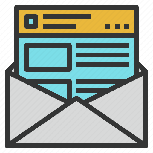 email, marketing, newsletter, subscribe, web icon