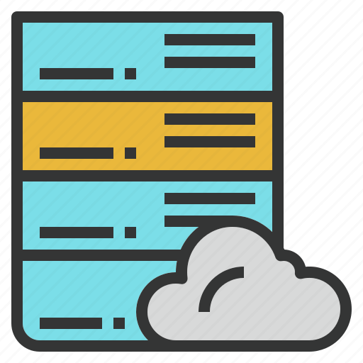 cloud, online, server, storage, web, website icon