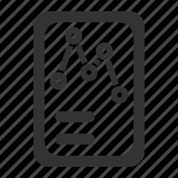 analytics, document, report, sales icon