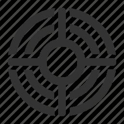 aim, purpose, target, targeting icon