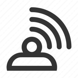 feedback, point access, thought, wifi icon