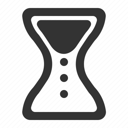 hourglass, productivity, time, timing, watch icon