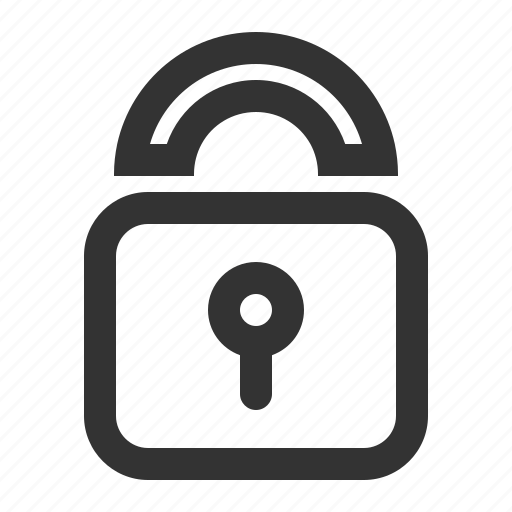 confidential, lock, locked, private, protect, safe, secure icon