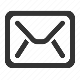email, envelope, letter, mail, subscription icon